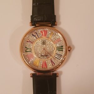 Victoria Wieck Leather Watch